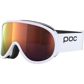 POC Retina Clarity Goggles hydrogen white/spektris orange